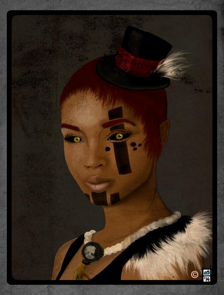 Queen of Vodoo by BrainBlueArts