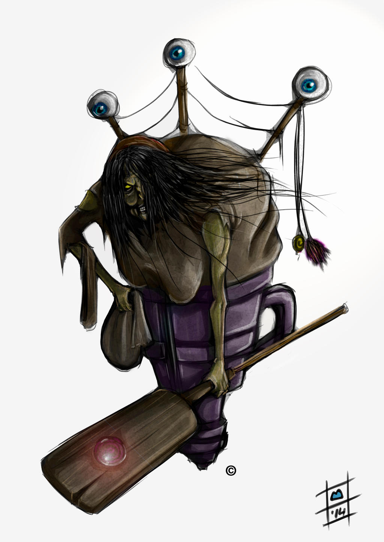 concept baba yaga by BrainBlueArts