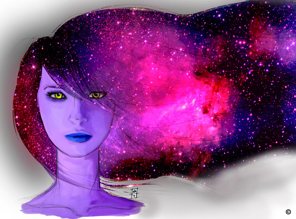 The Night by BrainBlueArts
