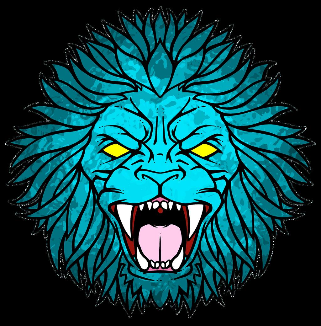 Lion Roar by BrainBlueArts