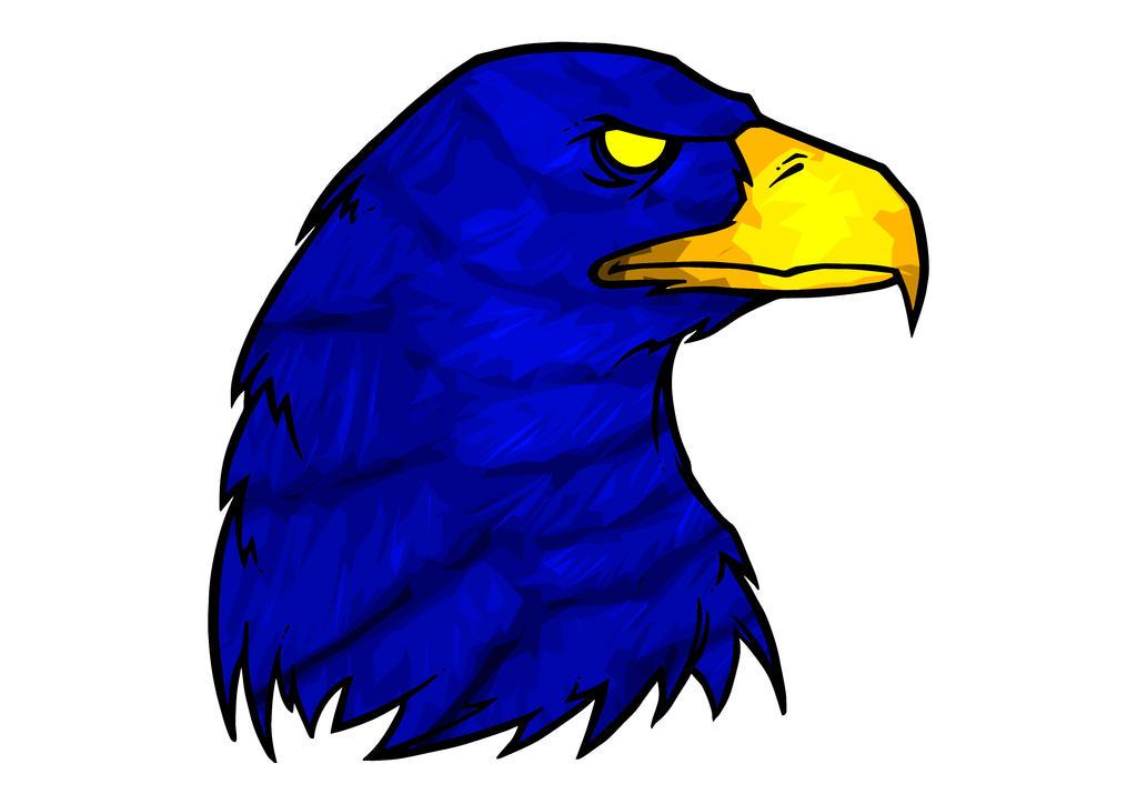 Eagle by BrainBlueArts