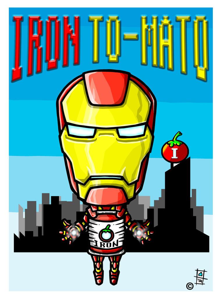 iron tomato by BrainBlueArts