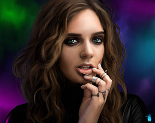 Tove Lo by BrainBlueArts