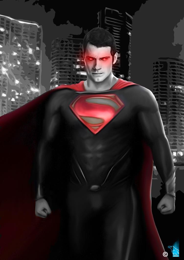 SuperMan by BrainBlueArts