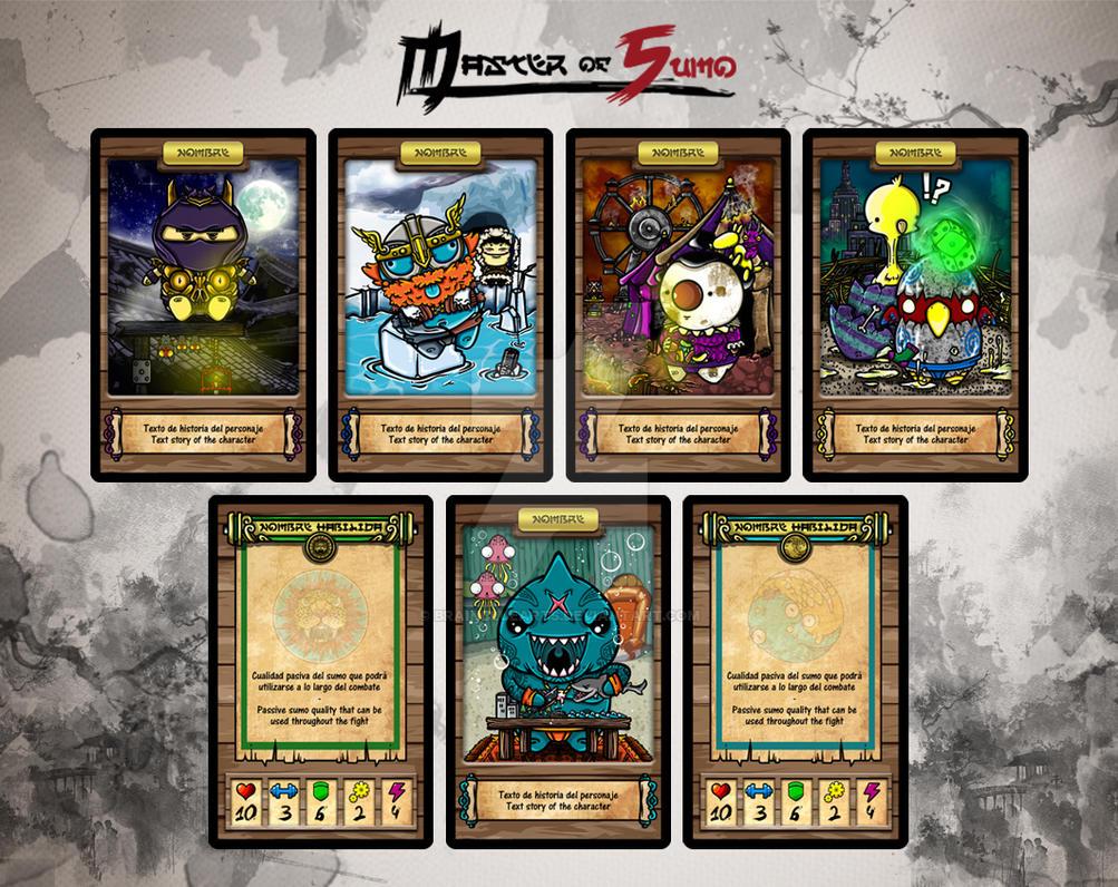 Nuevas Cartas Promo by BrainBlueArts