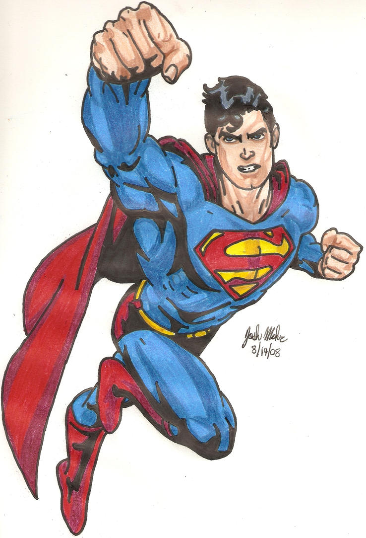 Superman by Shigdioxin