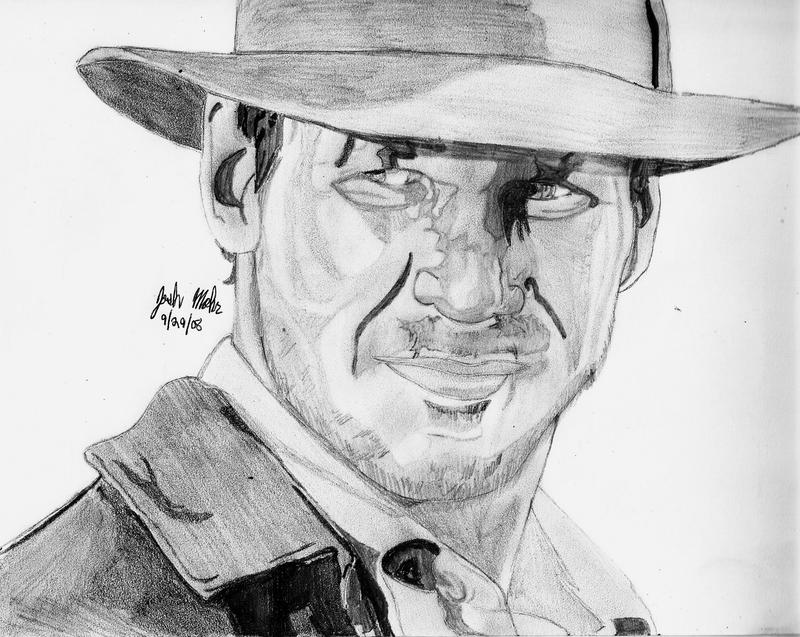 Indiana Jones by Shigdioxin