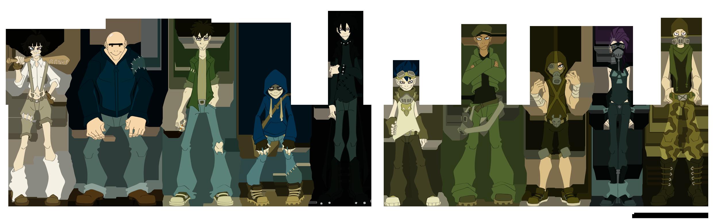 Underdog - characters by Icarus-Skollsun