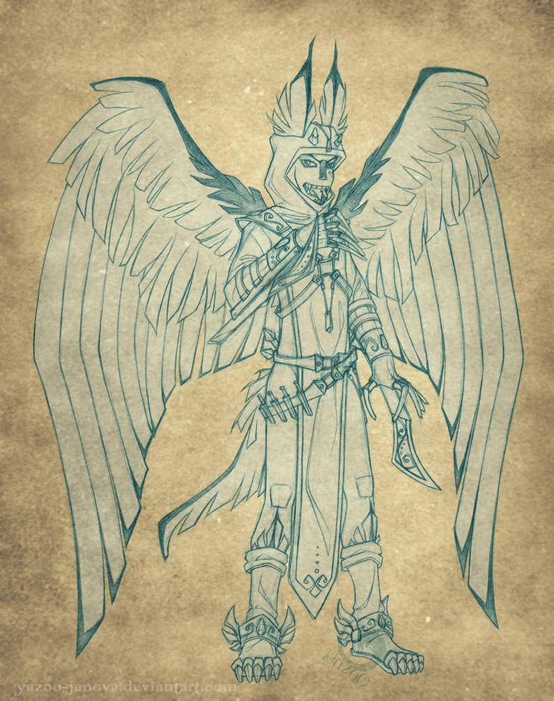 Janai - Prince des sables by Icarus-Skollsun
