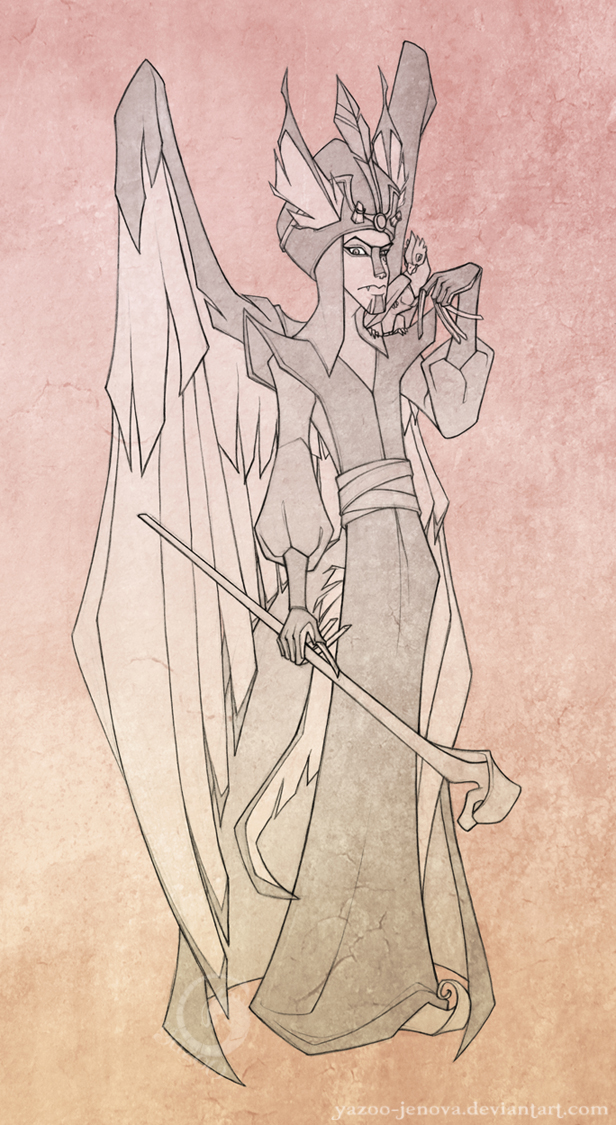 Janai as Jafar by Icarus-Skollsun