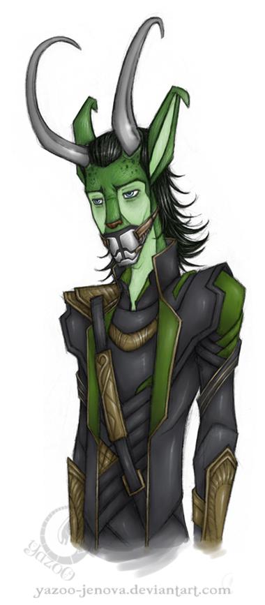 Neopets - Loki Laufeyson by Icarus-Skollsun