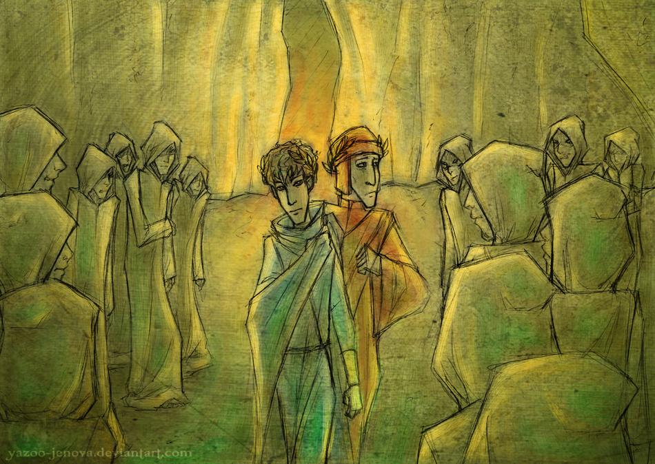 Dante's Inferno - Charon - Part I by Icarus-Skollsun