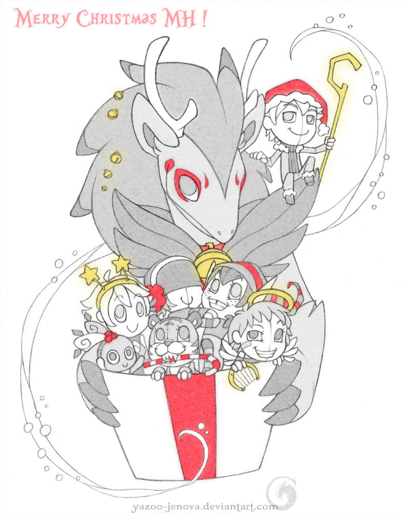 Merry Christmas MH ! by Icarus-Skollsun