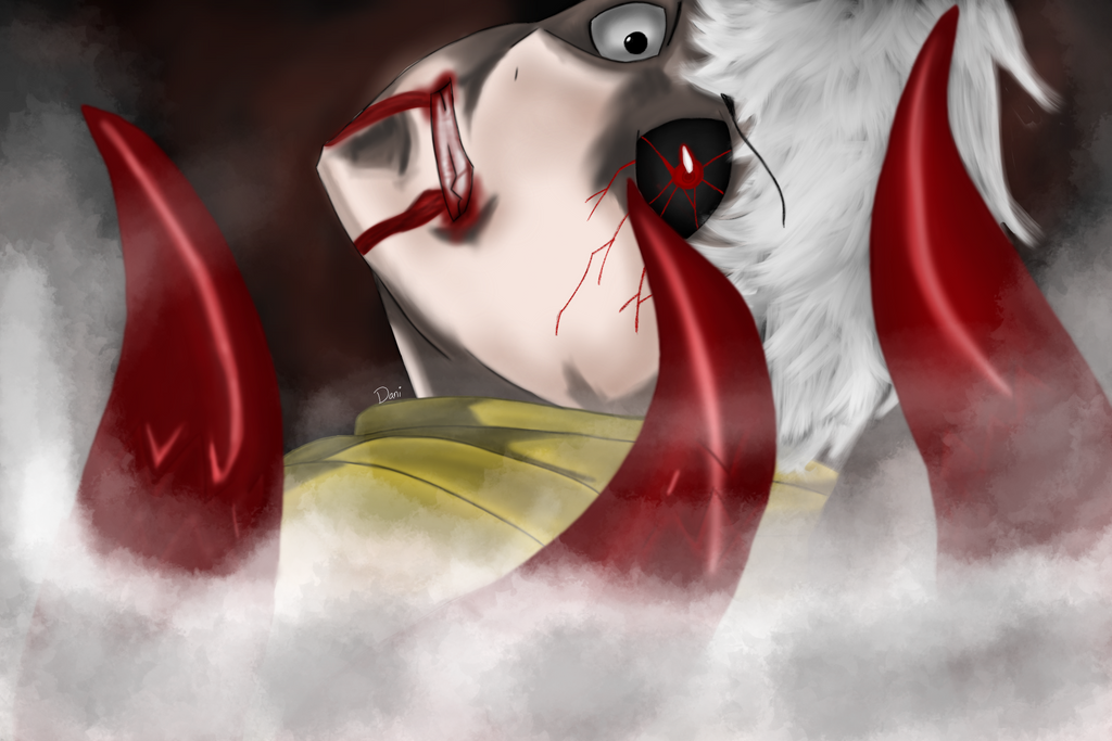 Kaneki-Kun From Tokyo Ghoul by Blabbercat
