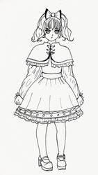 Lolita Fashion Inspired Sketch