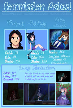 Commission Price Sheet (COMMISSIONS OPEN!)