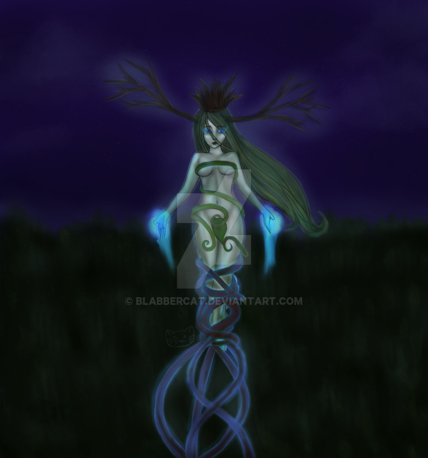 Tree Queen by Blabbercat