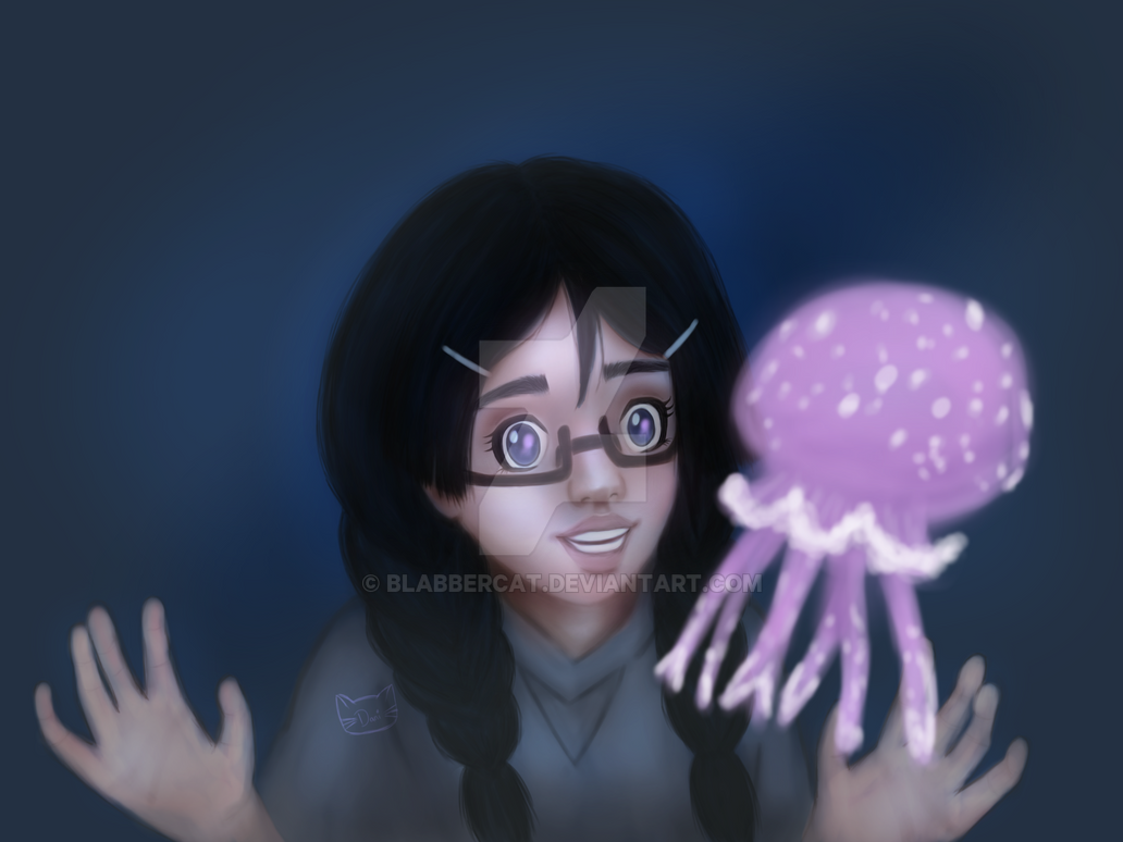 Tsukimi From Princess Jellyfish by Blabbercat