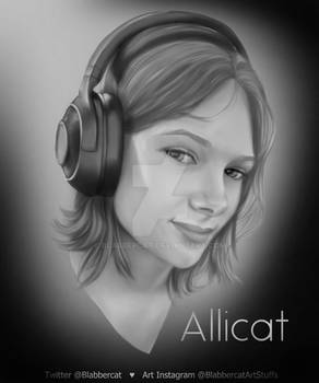 Allicat Portrait
