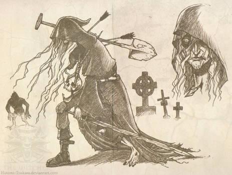 The Phantom Gravedigger