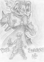 Kaji y el demonio del fuego