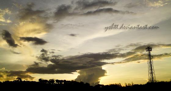 As the sun sets.. by yshtt