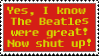 The Beatles were great by HCShannon