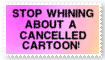 Cancelled cartoons by HCShannon