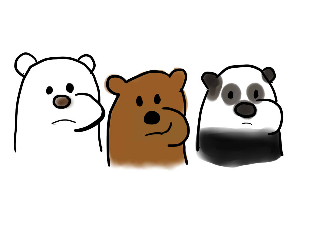 We Bare Bears by HCShannon