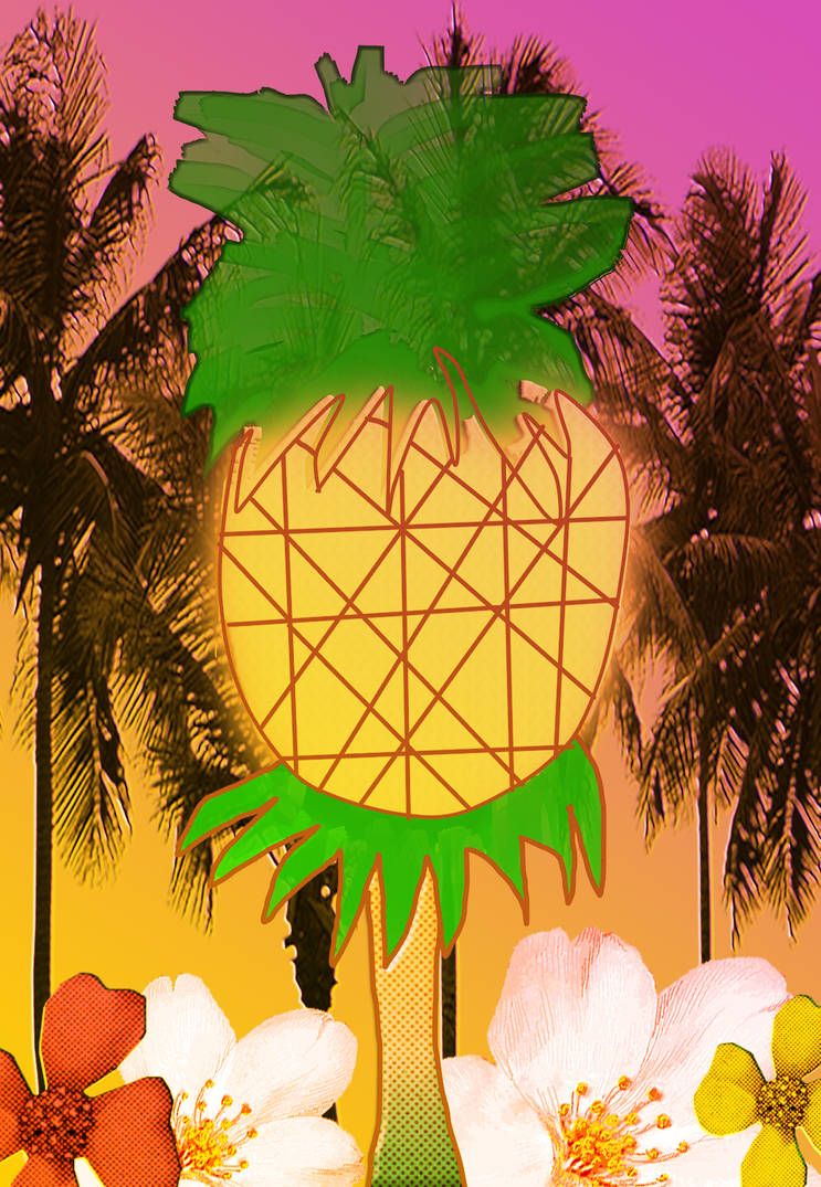 Pineapple Fantasy by HCShannon