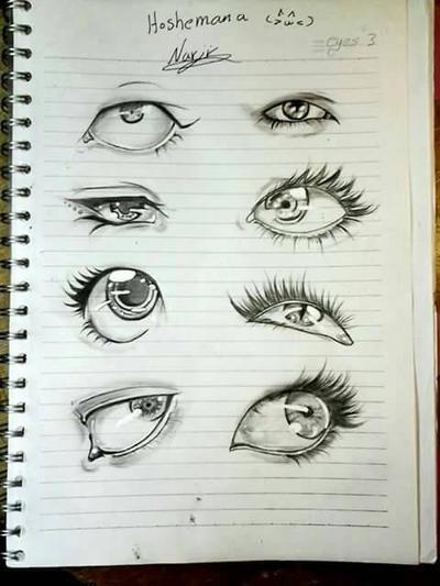 eyes by Nersseanchan