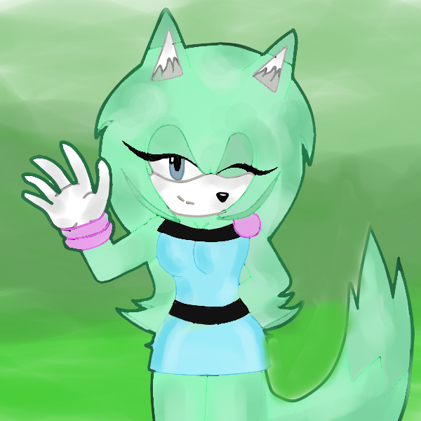 Sheyla The Ferret by WizardStarMysttic