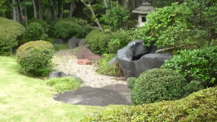 japanese garden by shutonga