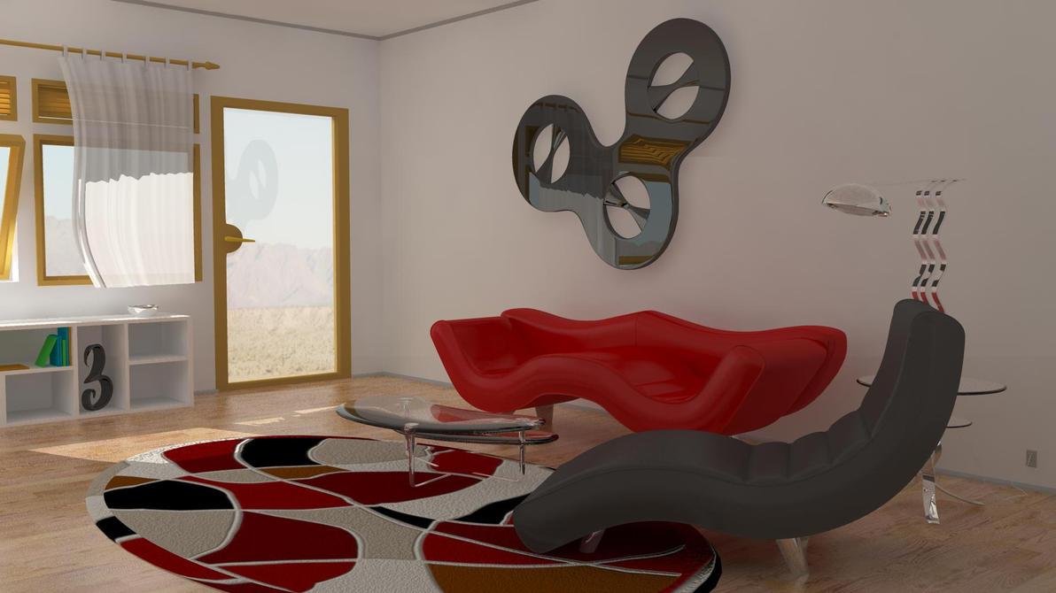 Living Room Sala De Estar ~ Living room Sala de estar by LuzbeLoco on DeviantArt