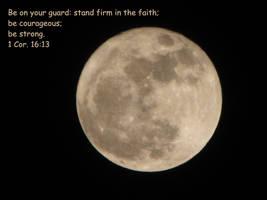 I Cor. 16:13 by Miskwaadesi