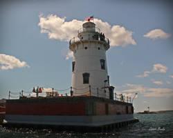 Harbor Beach Lighthouse 5544 by Miskwaadesi