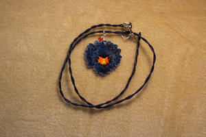 Bateleur Eagle Necklace by Miskwaadesi