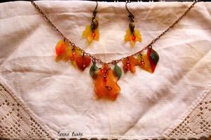 Autumn Multi-Leaf Set by Miskwaadesi