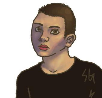 Self Portrait Masc by soluble-hermit