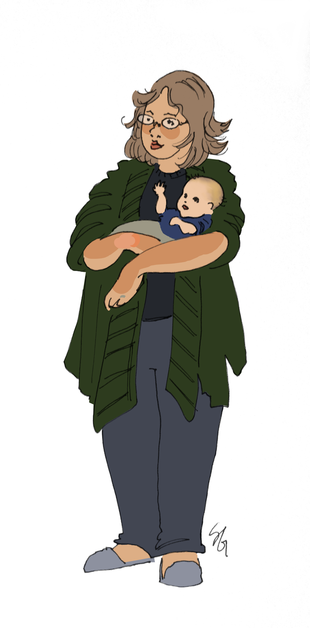 Mom and Bab by soluble-hermit