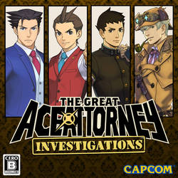Great Ace Attorney: Investigations (AA fan boxart)