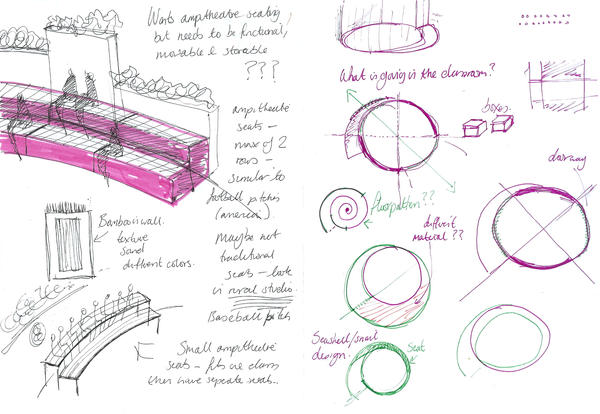 Classroom Design Sketch : Classroom design sketch by claire louise on deviantart