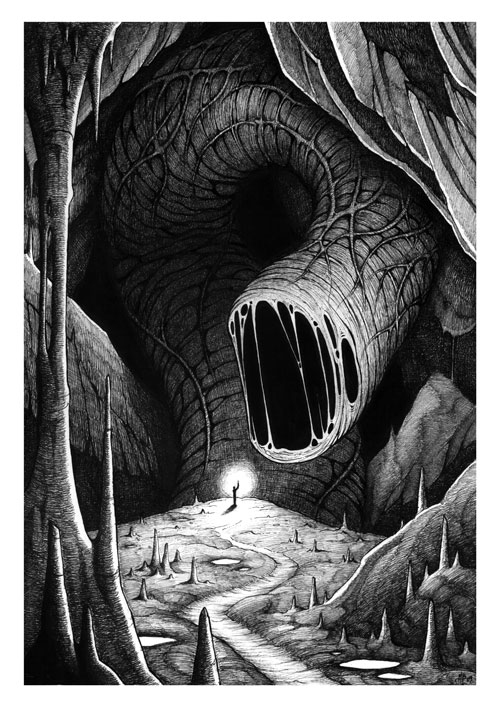 The Abyss Worm by MichaelBrack