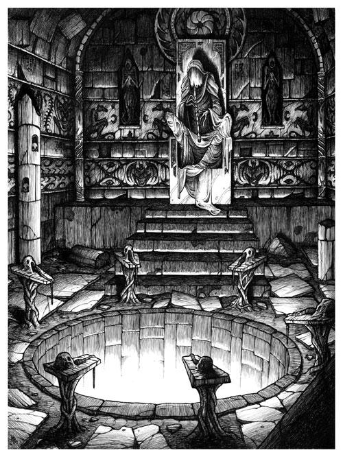 The High Priest by MichaelBrack
