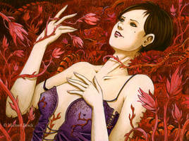 Blood Flowers by MichaelBrack