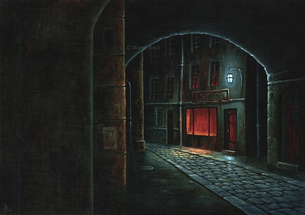 Open by night by MichaelBrack