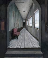 Corridor by MichaelBrack