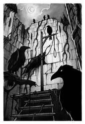 Crows by MichaelBrack