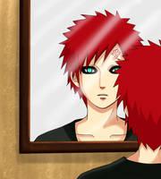 -remake-man behind the mirror by QUDIST
