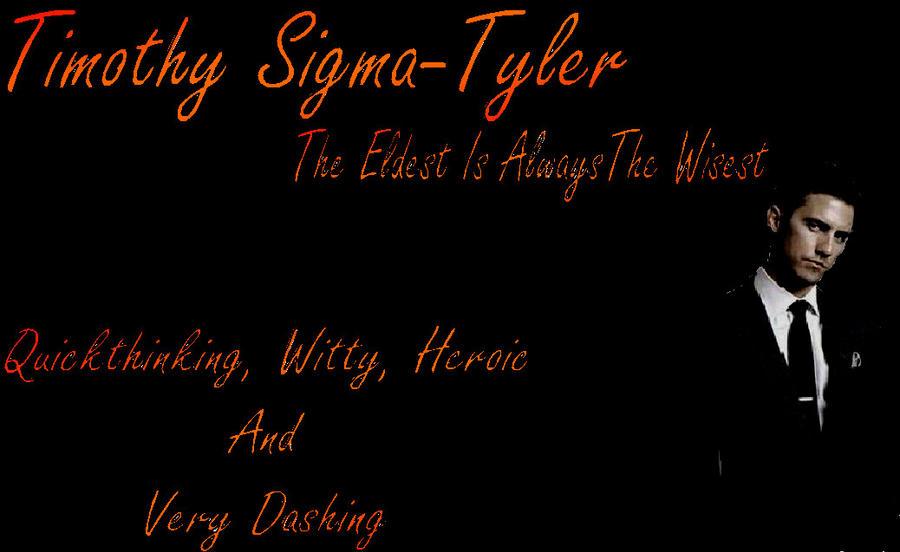 Timothy Sigma Tyler 24 By Darkmatterchild On Deviantart